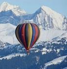 ballonvaart boven de alpen