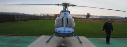bell 407 helikopter front