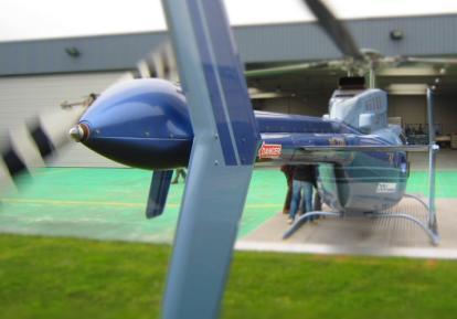 helikoptervluchten in België