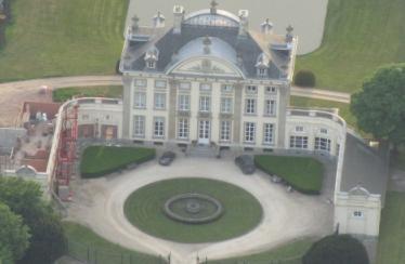 kasteel van ardooie luchtfoto