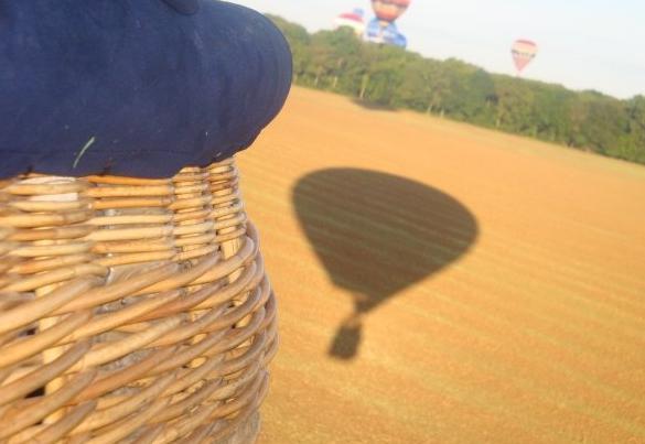 Luchtballonvlucht
