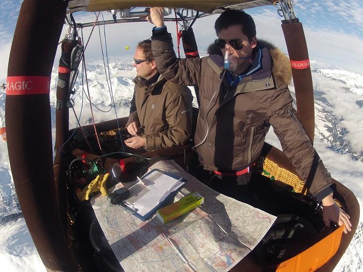 luchtdoop in de alpen