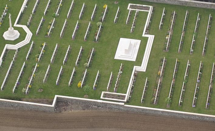 militaire begraafplaats luchtdoop westhoek